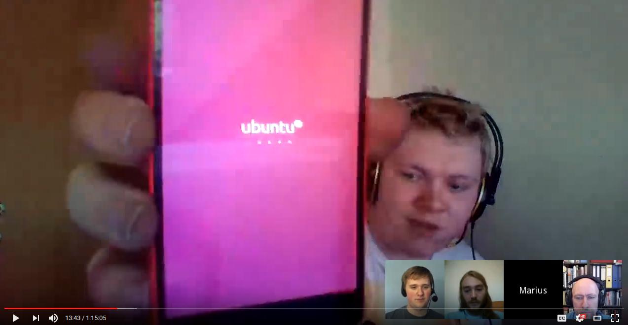 Ubuntu 16.04 running inside Halium